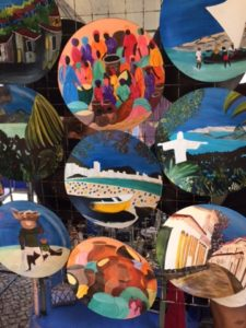 Colours of the Ipanema hippie fair