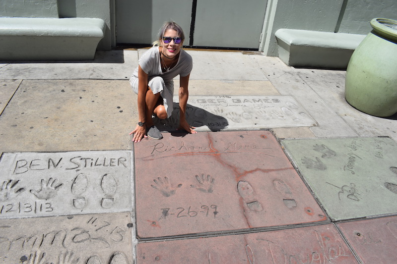 Hollywood Boulevard, richard gere, Chinese theatre