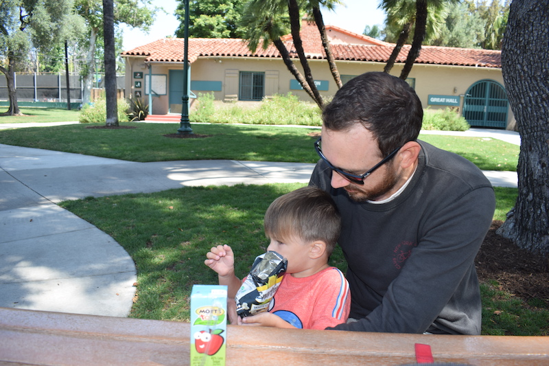 Plummer Park, Los Angeles, family time