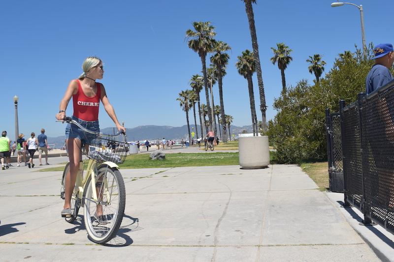 Venice Beach Los Angeles, cycling