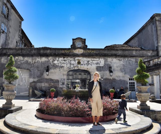 Cognac tour at Chateau de Cognac