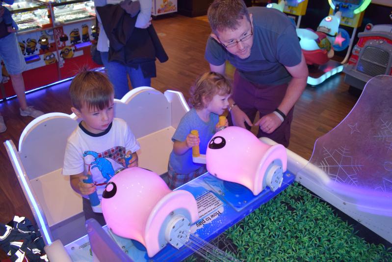 Arcade games at Center Parcs