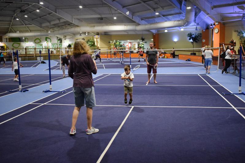 Badminton at Center Parcs