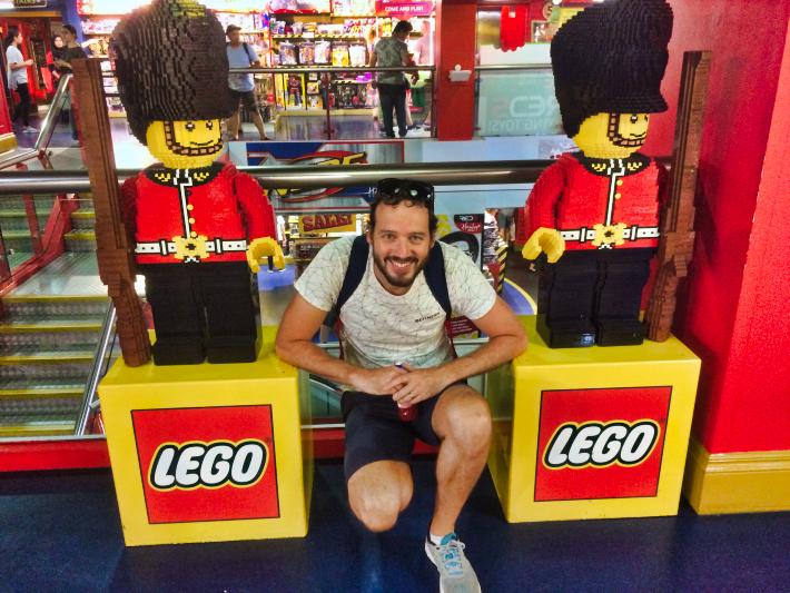 Lego at Hamleys