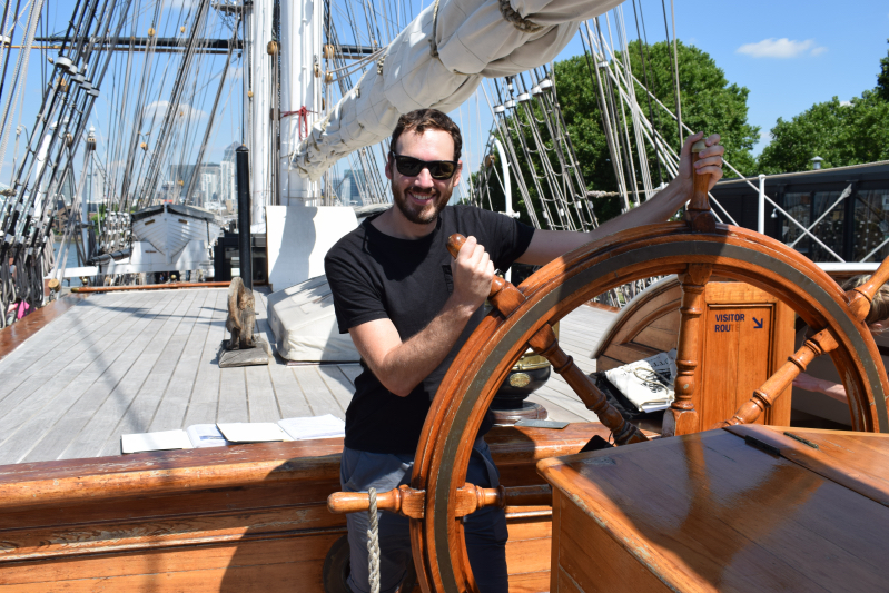 Exploring the Cutty Sark in Greenwich