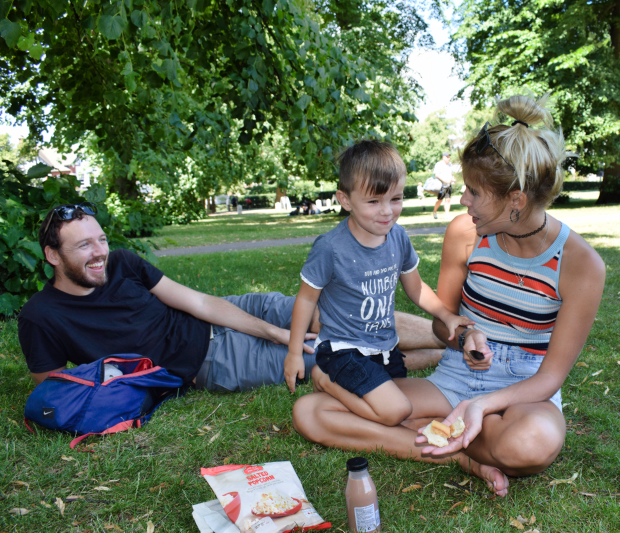 Greenwich park picnic