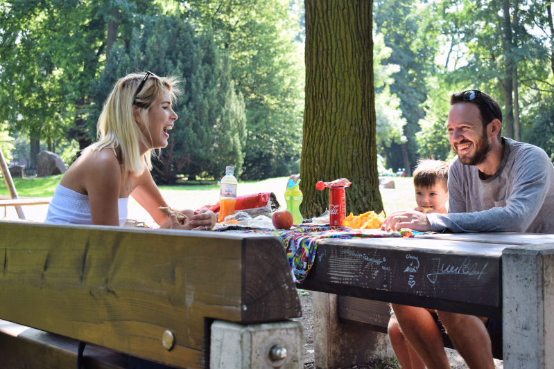 Picnic lunch in Stadtpark