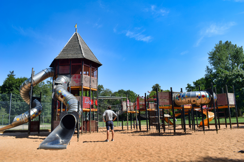Stadtpark play grounds