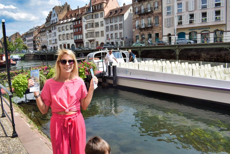 Batarama boat trip in Strasbourg