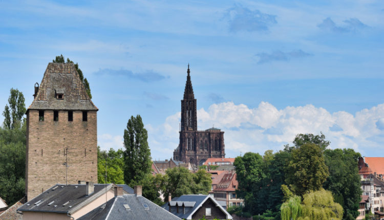 Strasbourg, a border town with a little bit of magic